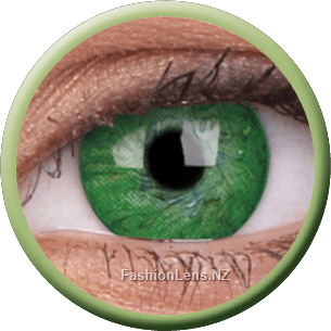 Basic Green ColourVue Contact Lenses. Fashion Lens NZ.