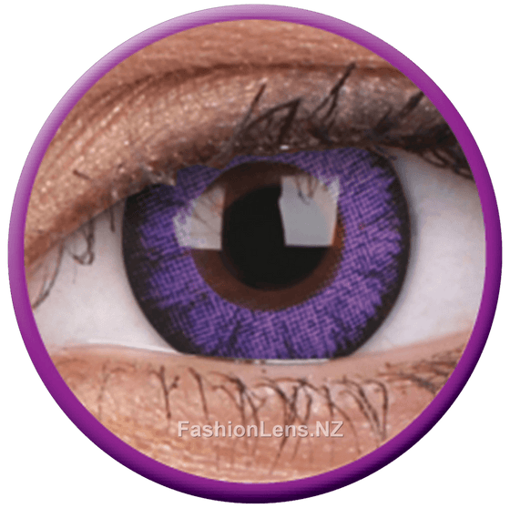 Big Eyes Ultra Violet ColourVue Contact Lenses. Fashion Lens NZ.
