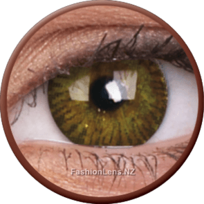 3 Tones Brown ColourVue Contact Lenses. Fashion Lens NZ.