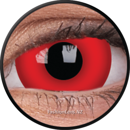 17mm Lens Dare Devil ColourVue Contact Lenses. Fashion Lens NZ.