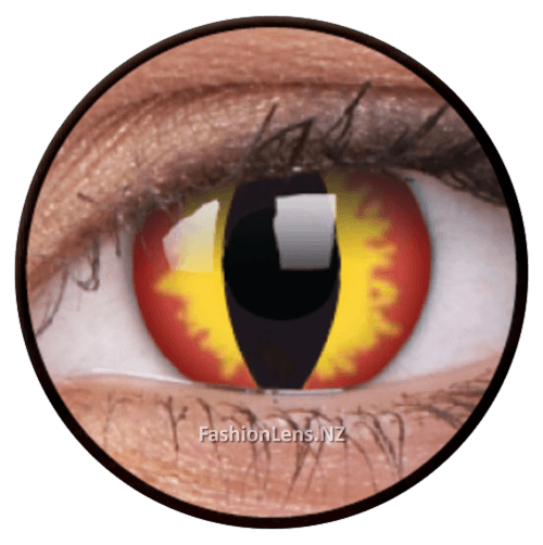 Crazy dragoneyes ColourVue Contact Lenses. Fashion Lens NZ.