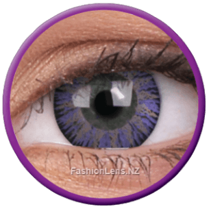 Glamour Violet Coloured ColourVue Contact Lenses