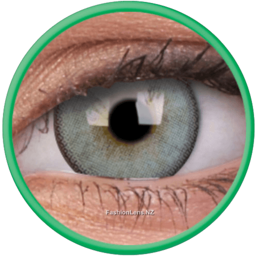Lumina Gleaming Green Coloured ColourVue Contact Lenses
