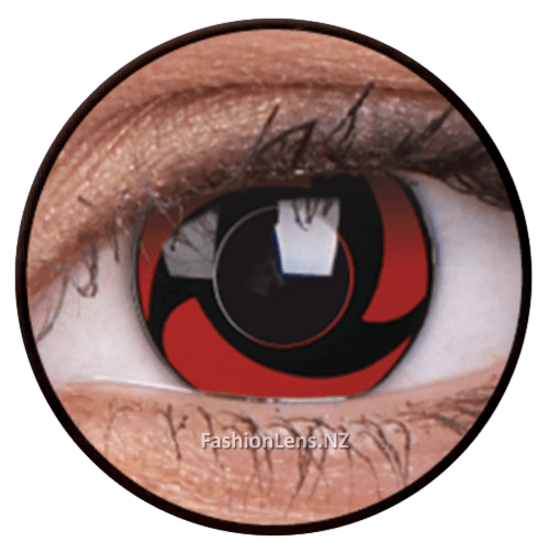 Crazy mangekyu ColourVue Contact Lenses. Fashion Lens NZ.