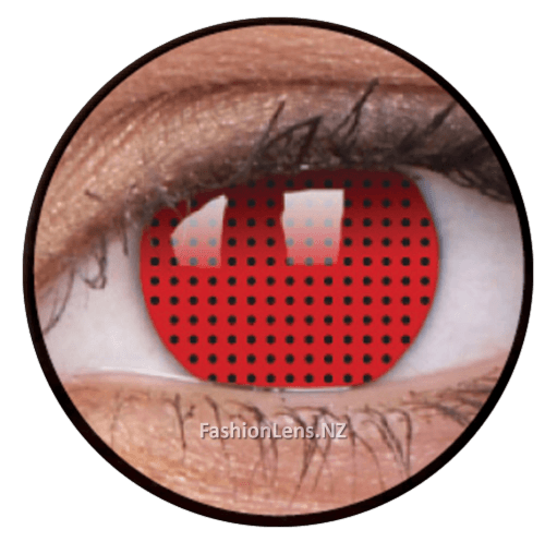 Crazy redscreen ColourVue Contact Lenses. Fashion Lens NZ.