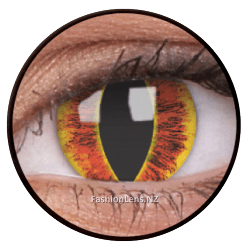 Crazy sauronseye ColourVue Contact Lenses. Fashion Lens NZ.