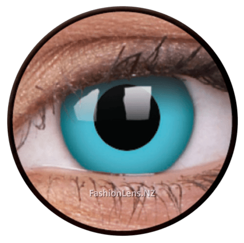 Crazy skyblue ColourVue Contact Lenses. Fashion Lens NZ.