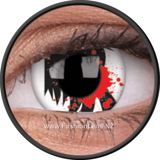 Crazy Blood Scream ColourVue Contact Lenses