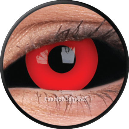 22mm Lens Gremlin ColourVue Contact Lenses. Fashion Lens NZ.