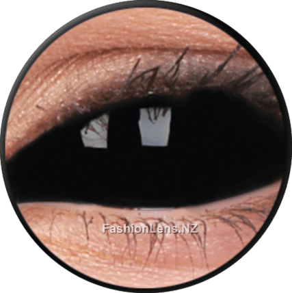 22mm Lens Sabretooth Black ColourVue Contact Lenses. Fashion Lens NZ.