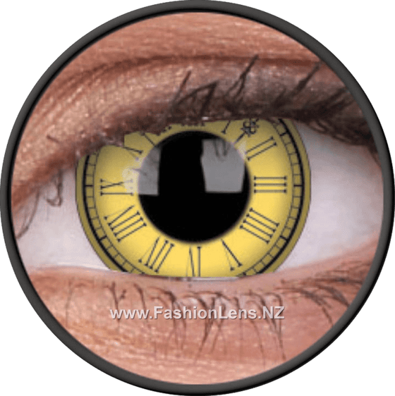 Crazy Time Keeper ColourVue Contact Lenses