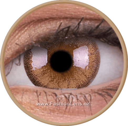 Cheerful Woody Brown ColourVue Contact Lenses