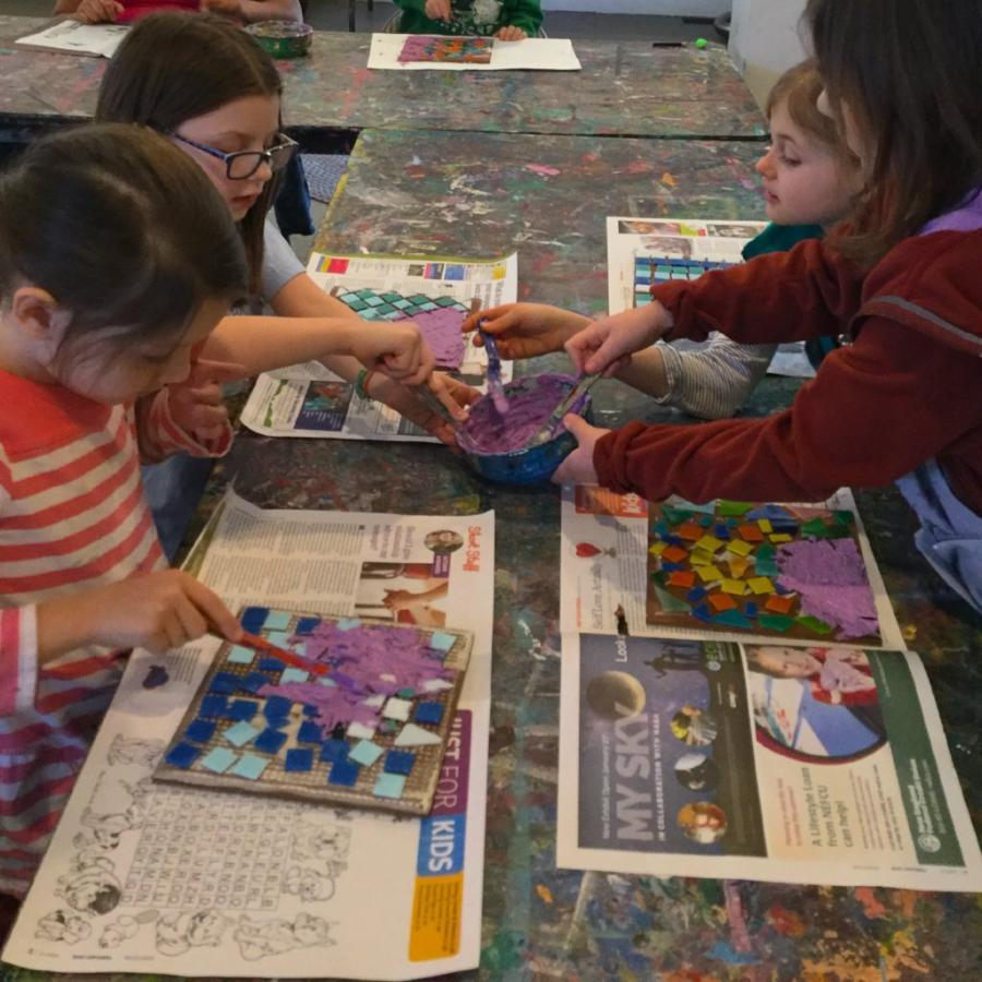 Art & Academic Enrichment Level 1 (Full Day) - Spring 2019