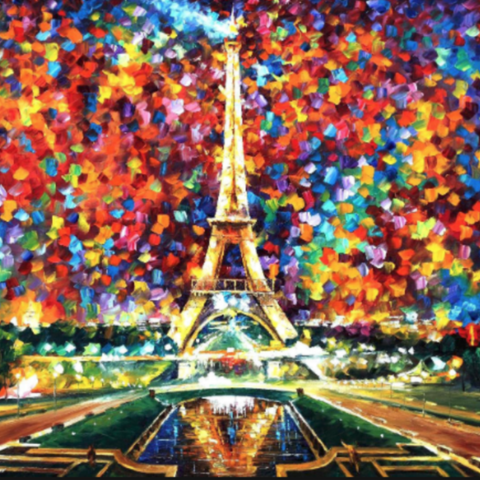 Davis Studio Paint & Sip Night - April in Paris