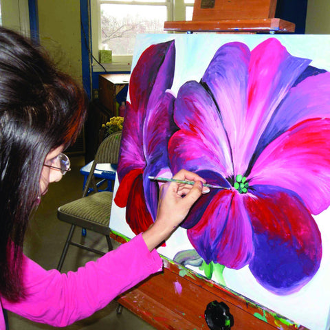 Davis Studio Paint & Sip Night - Flower Power