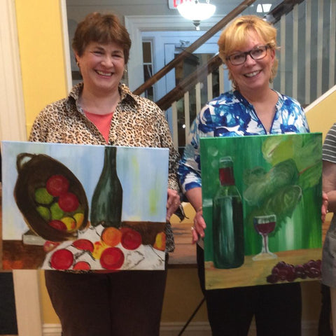 Davis Studio Paint & Sip Night - Uncork and Unwind