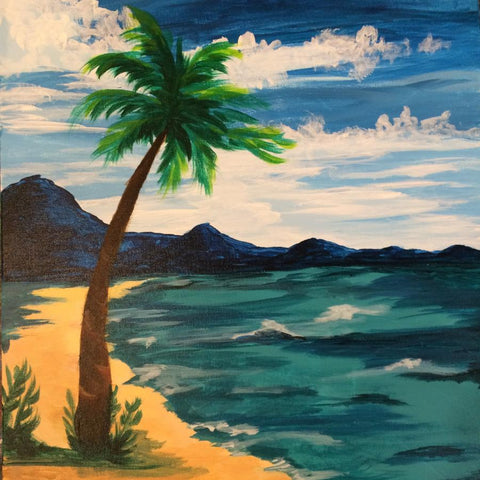 Davis Studio Paint & Sip: Tropical Getaway