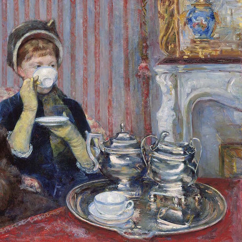 Friday Morning Painting Soiree: Tea Time with Mary Cassatt