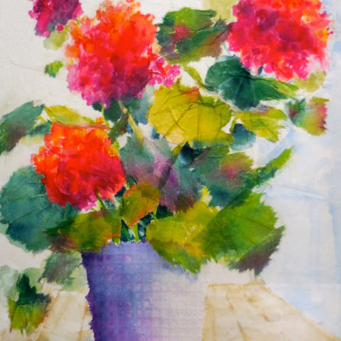 A Splash of Spring - Watercolor