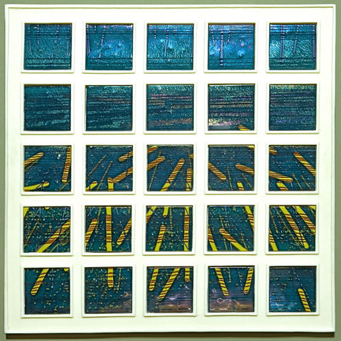 Fused Glass: Framing Focus – a Fused Glass Wall Piece