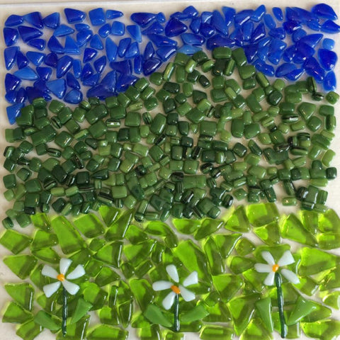 Fused Glass: Landscapes & Designs - November