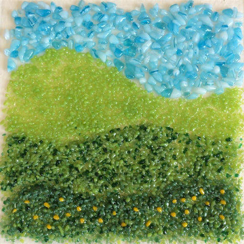 Fused Glass: Landscapes & Designs - May