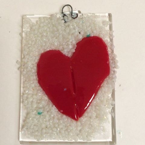 Fused Glass: Ornaments