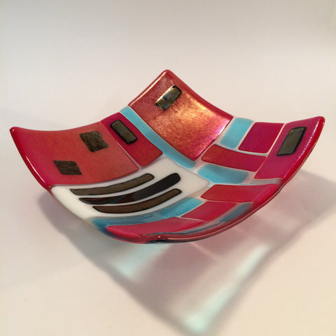 Fused Glass: Bowls - January