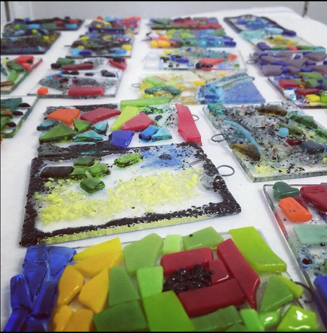 Private Fused Glass Workshop (for Dec 27, 2016)