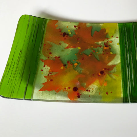 Fused Glass: Playing with Powders
