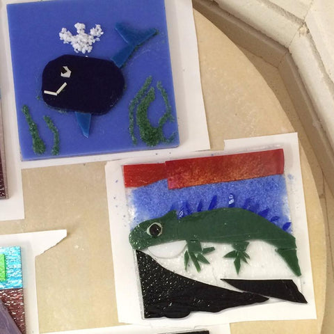 Fused Glass for Kids: Cut It, Crush It, Melt It