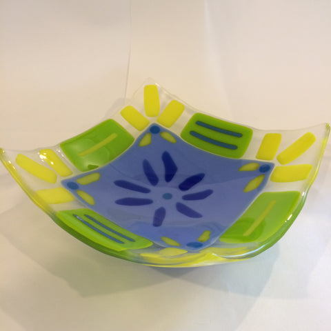 Fused Glass: Spring Bowls - 2018