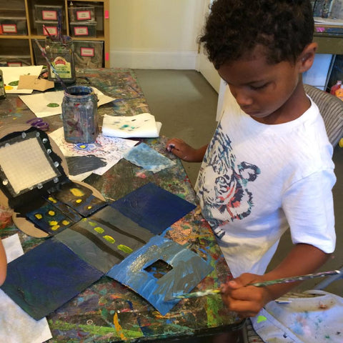Martin Luther King Jr. Day Camp - Acrylic Painting