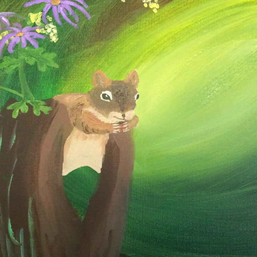 Family Paint Night - Woodland Creatures