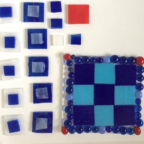 Fused Glass: For Kids- Full Fused Game Boards- January 2017