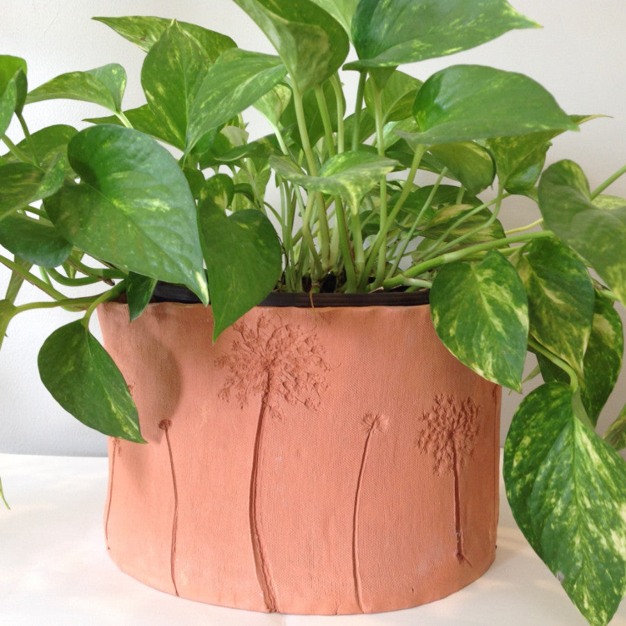Hand-building with Clay: Terra Cotta Planters: - Spring 2017