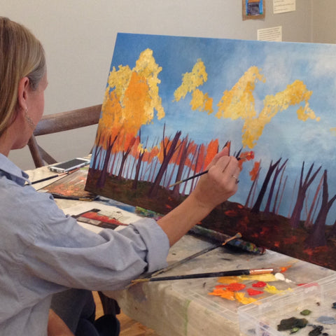 Davis Studio Paint & Sip Night - Fall Foliage