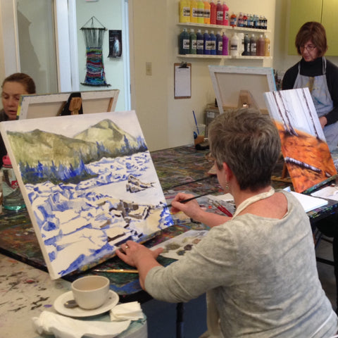 Saturday Open Studio Painting - March 2019