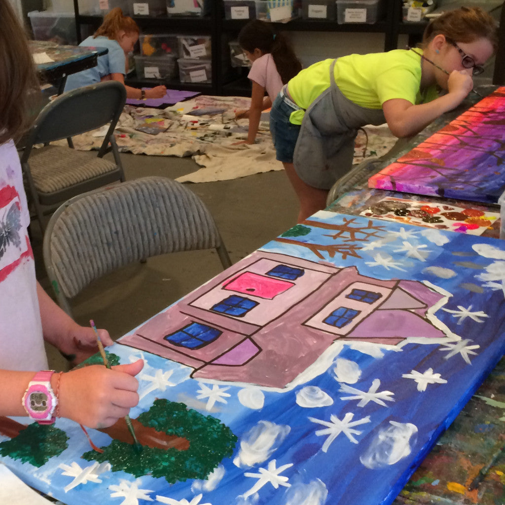 Acrylic Painting Vacation Camp - Oct. 21