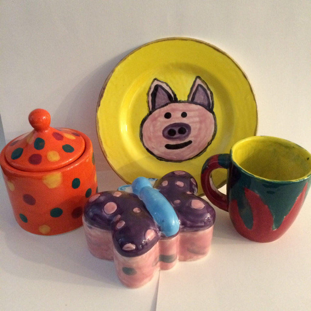 Pizza & Painted Pottery - March