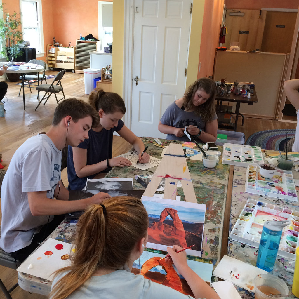 Individualized Art for Teens 2017/18