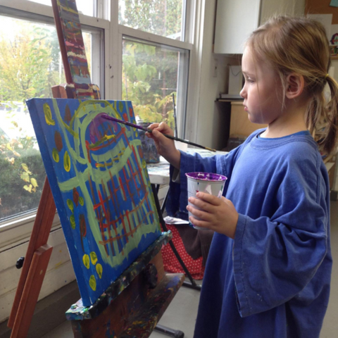 Preschool Art - 1/2 Day Camp