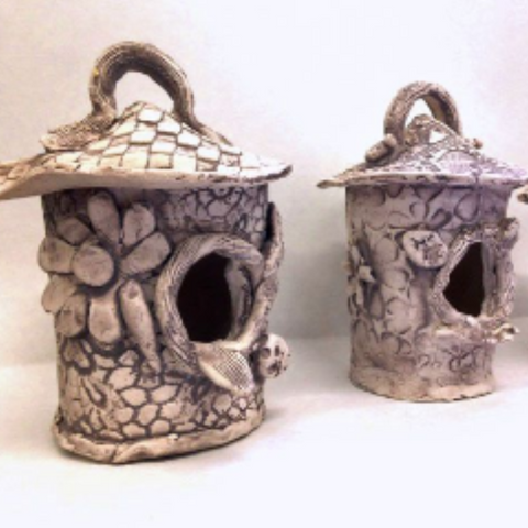 Clay: Lamps, Lanterns & Birdhouses - Winter 2018