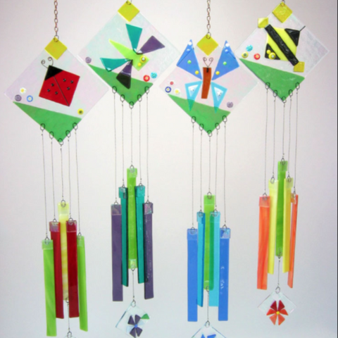 Fused Glass: Wind Chime Workshop - Fall 2018