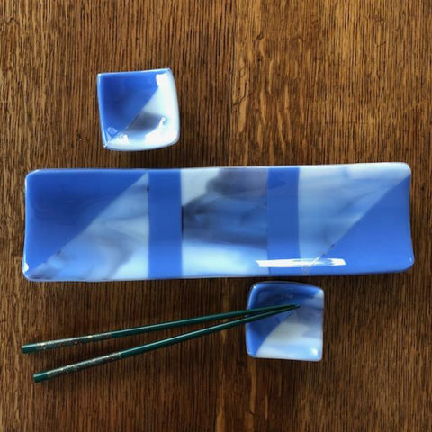 Fused Glass: Sushi Set - October 2018