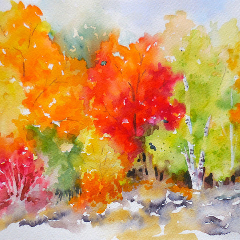 Watercolor Gone Wild - Autumn Edition