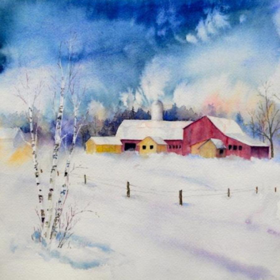 Watercolor Gone Wild – Early Winter Edition