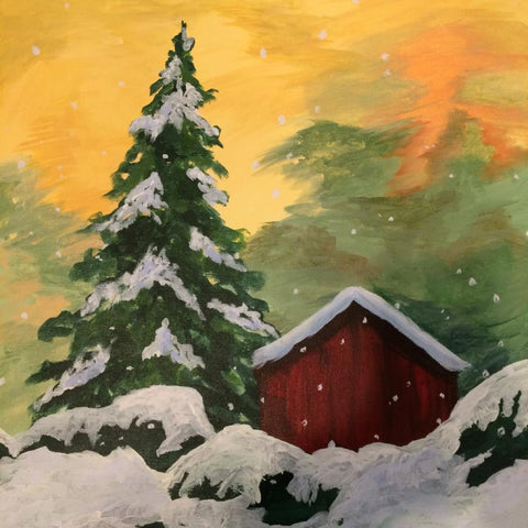 Davis Studio Paint & Sip Night - Winter Wonderland