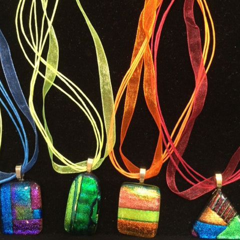 Fused Glass: Jewelry - September