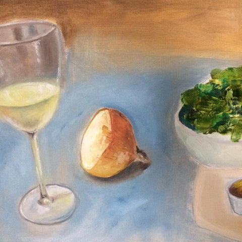 Oil Painting - CIA: Culinary Institute of Art